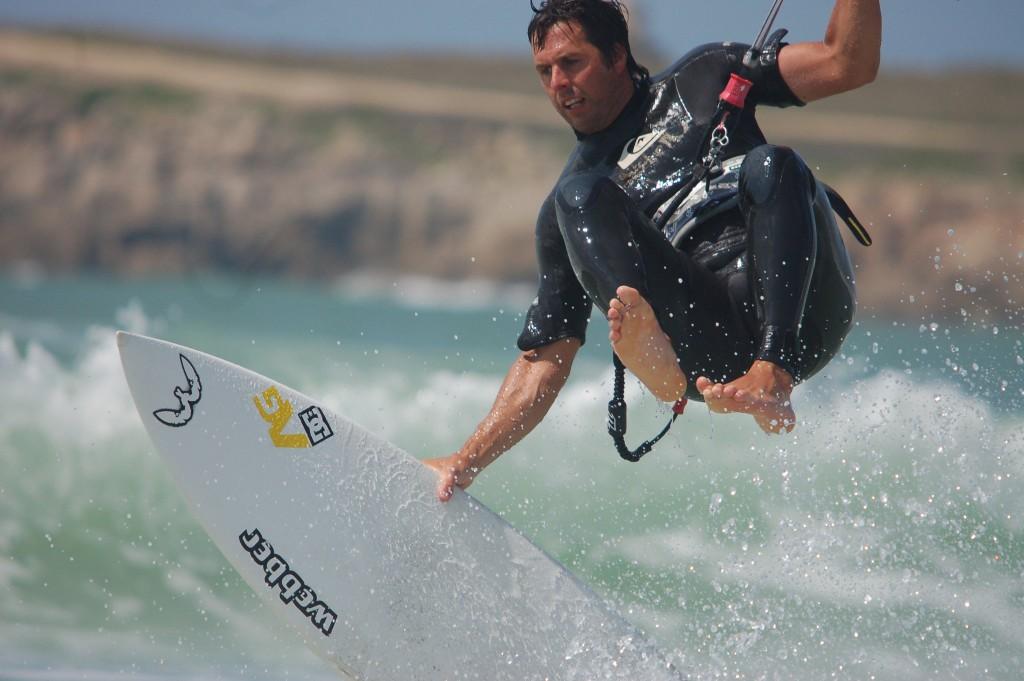 Steve Stubbs Expert Kiteboarder