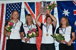 Winning the world match racing championships in 2010